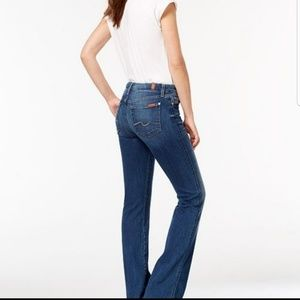 7 for all mankind boot cut 29
